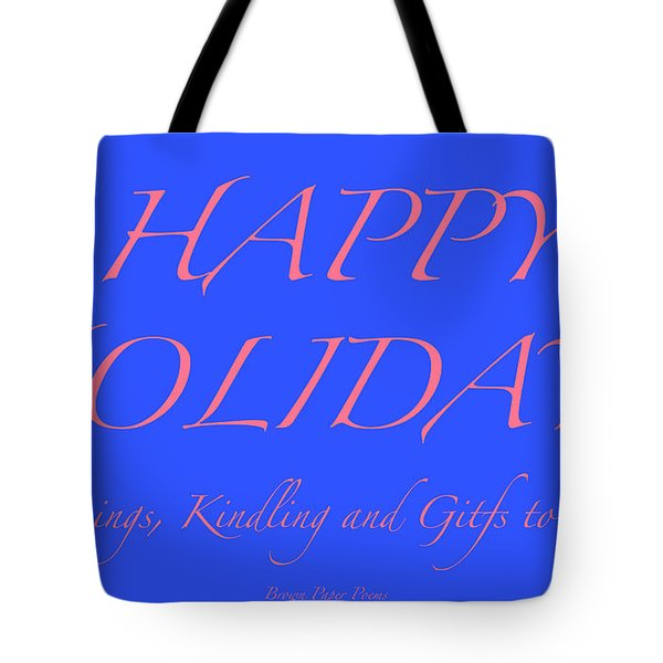 Happy Holidays - Day 7 Tote Bag