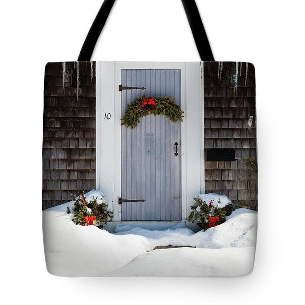 Tote Bag featuring the photograph Happy Holidays by Michelle Wiarda