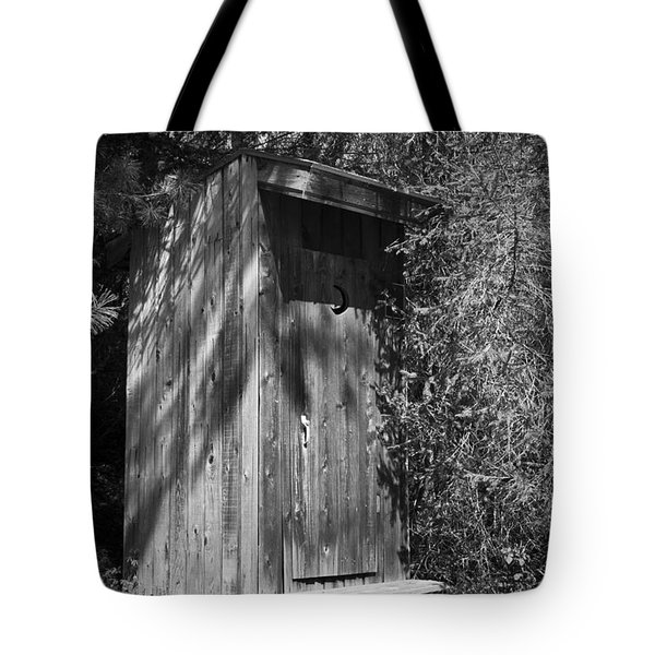 Happy Hollow Outhouse Tote Bag