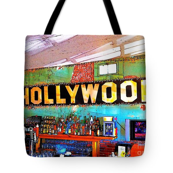 Happy Hour At The Hollywood Cafe Tote Bag