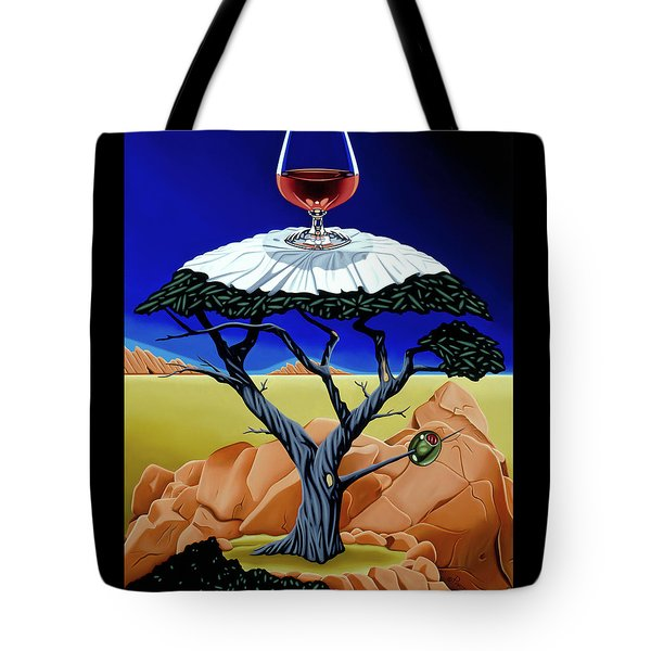 Happy Hour At The Midreal Cypress Tote Bag