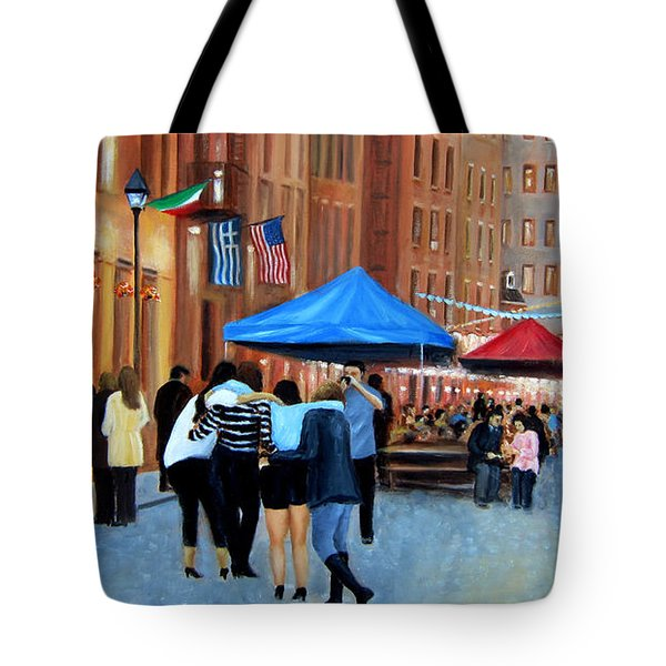 Happy Hour On Stone St. Nyc Tote Bag