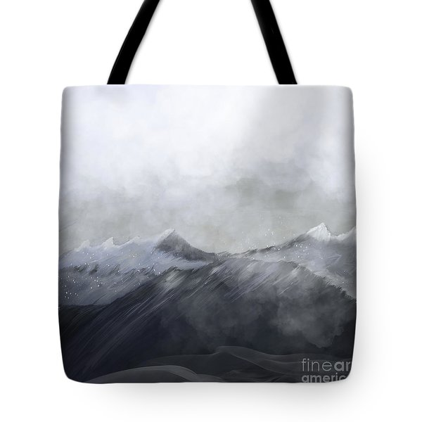 Happy In The Mountains Tote Bag