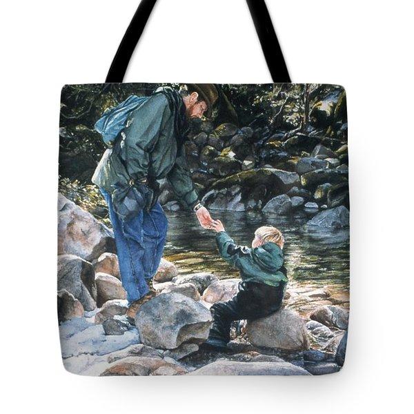 Happy Isles Tote Bag