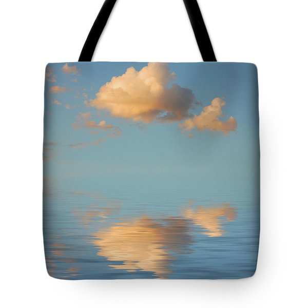 Happy Little Cloud Tote Bag by Jerry McElroy