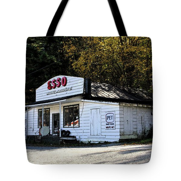 Happy Motoring Tote Bag by Dale R Carlson