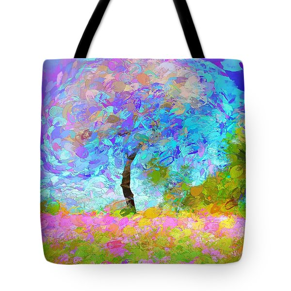 Happy Nature Tote Bag