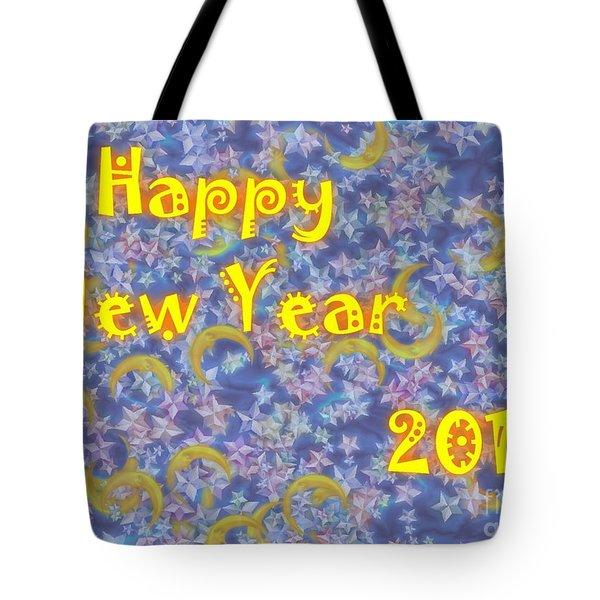 Happy New Year 2016 Tote Bag