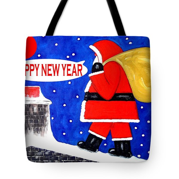 Happy New Year 48 Tote Bag by Patrick J Murphy