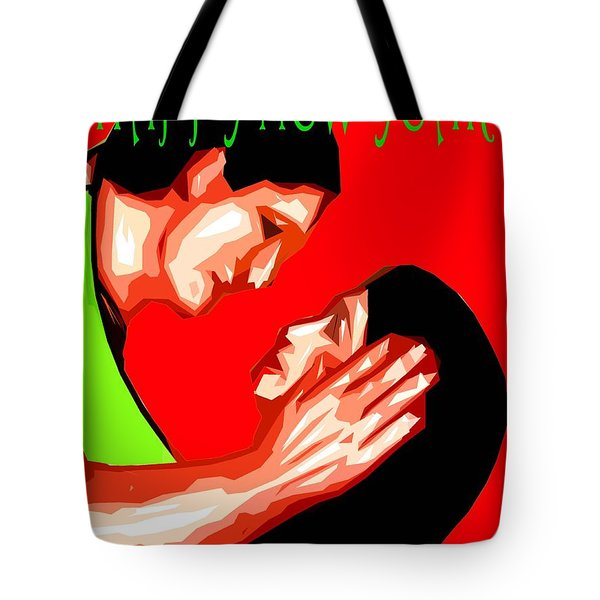 Happy New Year 49 Tote Bag by Patrick J Murphy