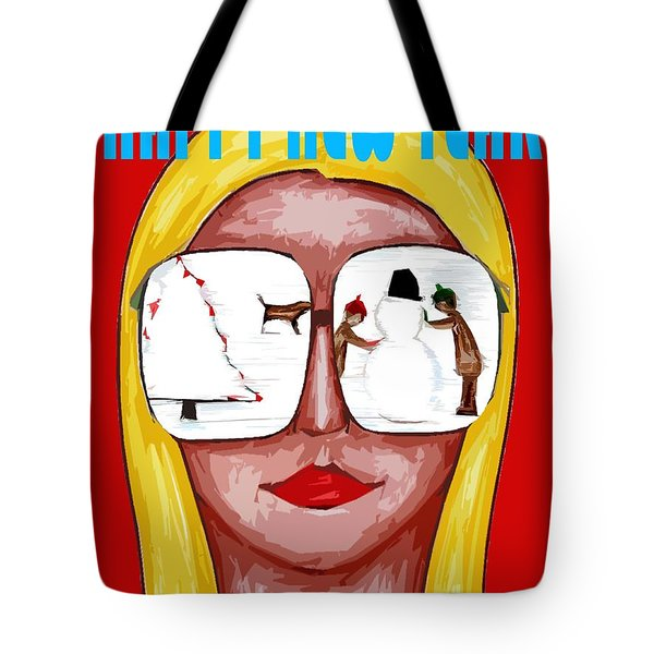 Happy New Year 51 Tote Bag by Patrick J Murphy