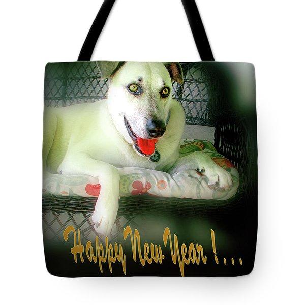 Happy New Year Art  Tote Bag