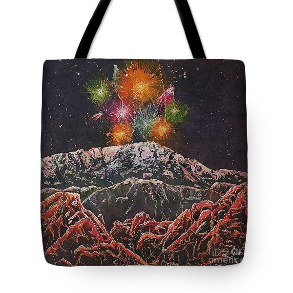 Happy New Year From America's Mountain Tote Bag