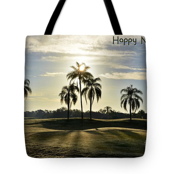 Happy New Year Tote Bag by Lorenzo Cassina
