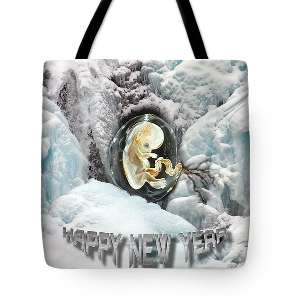 Happy New Year Tote Bag by Otto Rapp