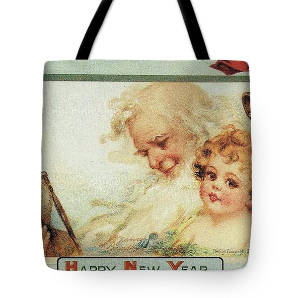 Happy New Year Tote Bag