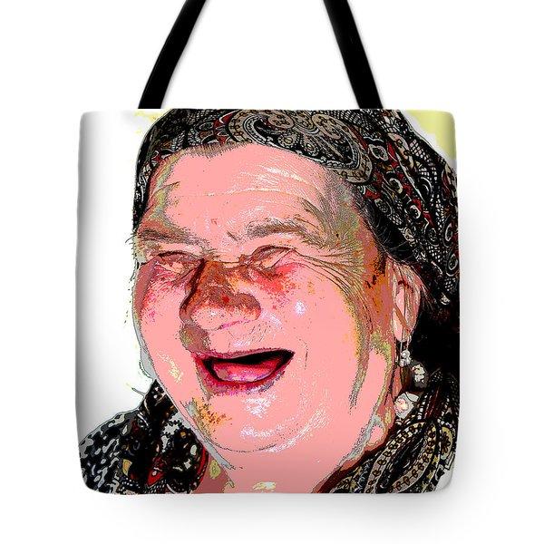 Babcia Tote Bag
