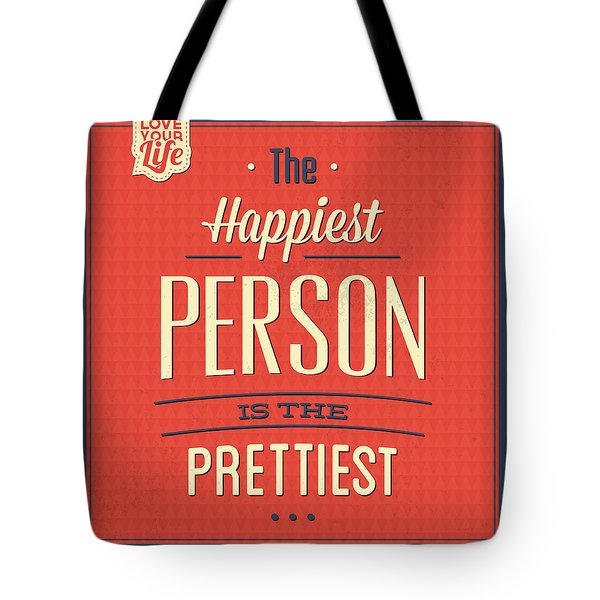 Happy Person Tote Bag