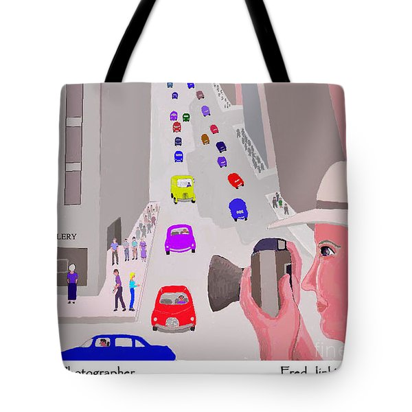 Happy Photographer Tote Bag