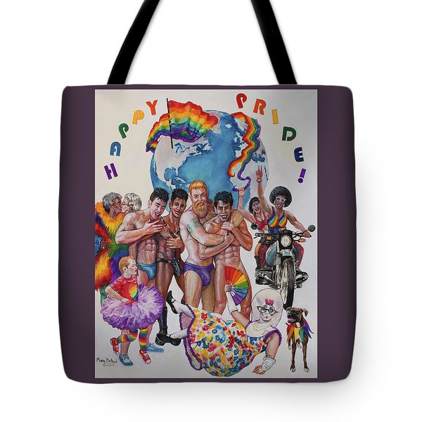 Happy Pride Tote Bag