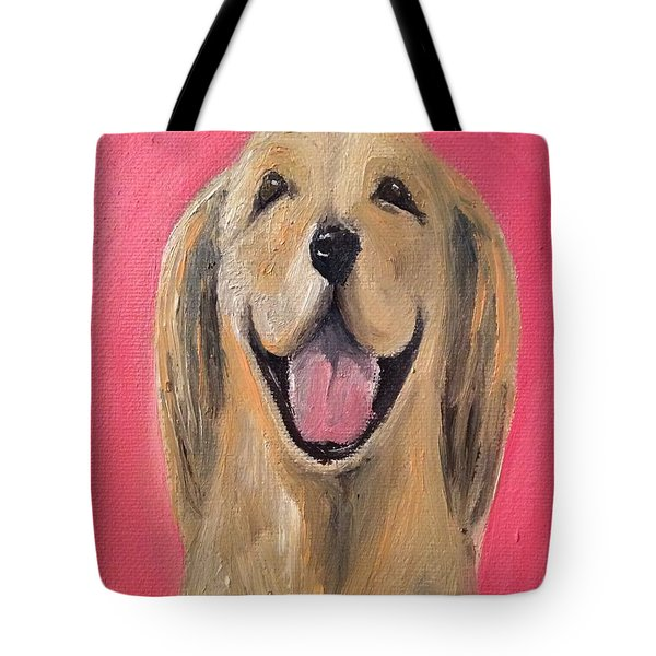 Happy Pup Tote Bag
