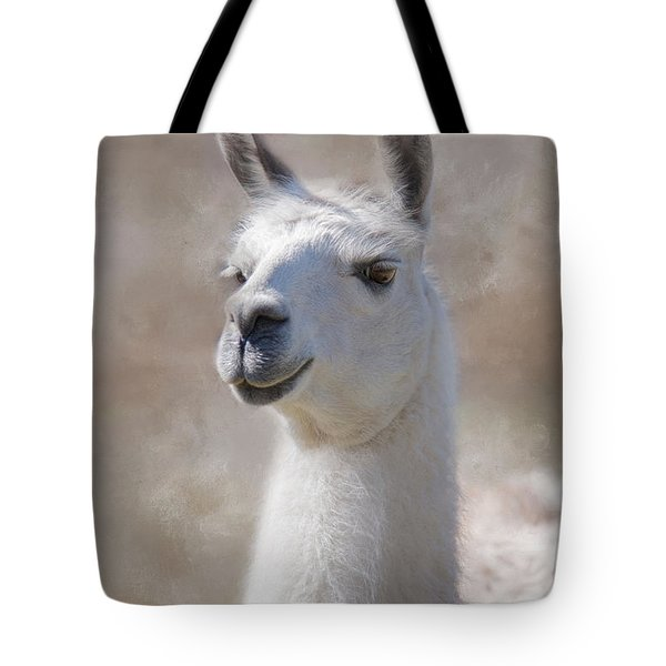 Happy Tote Bag by Robin-Lee Vieira
