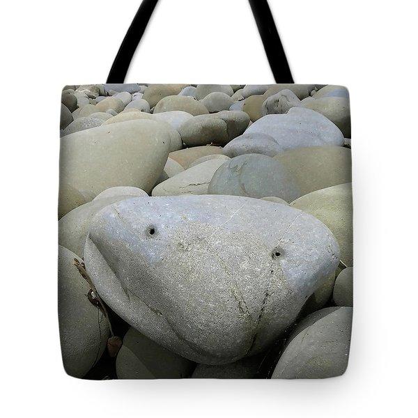 Happy Rock Tote Bag