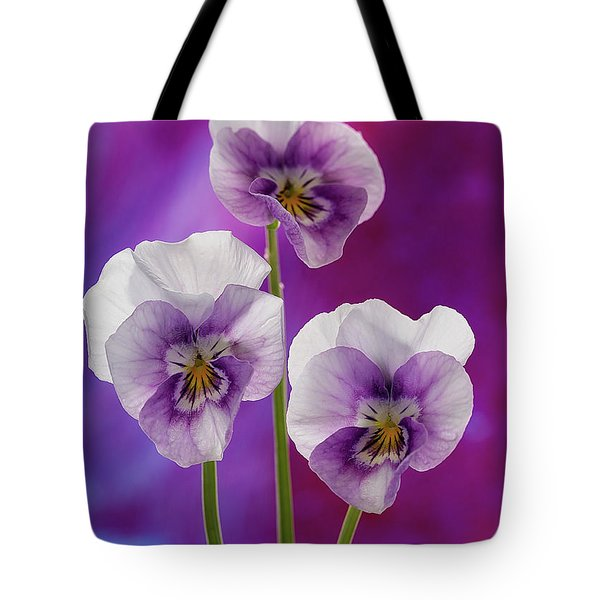 Happy Smilie Faces 2 Tote Bag by Shirley Mitchell