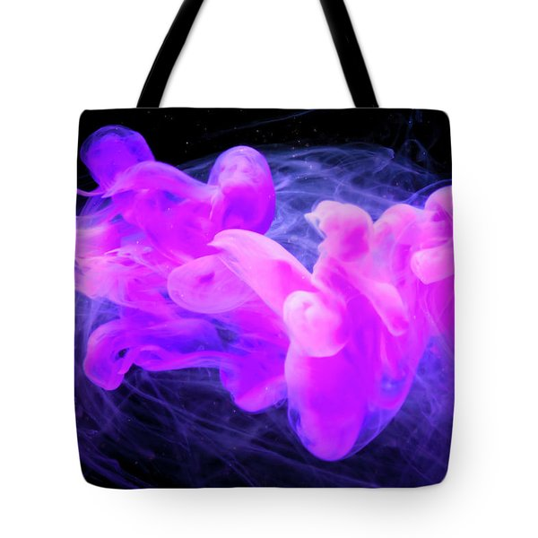 Happy Soul - Fine Art Photography - Paint Pouring Tote Bag by Modern Art Prints