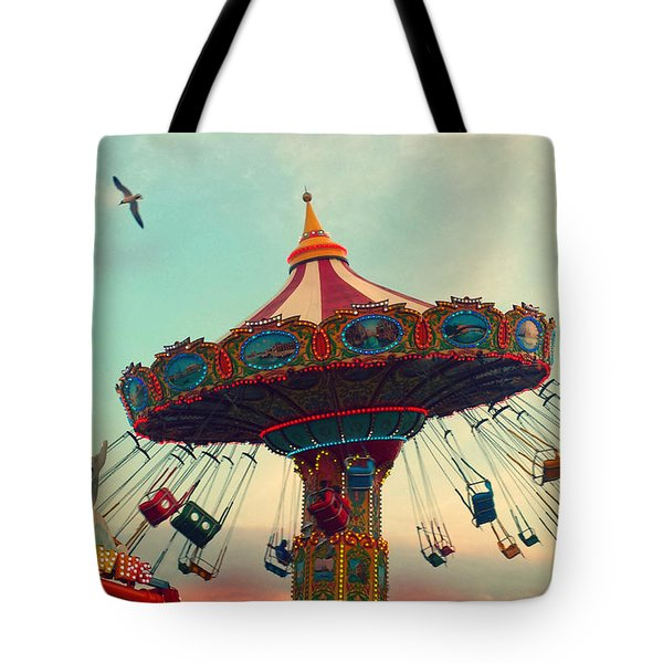 Happy Swing Tote Bag