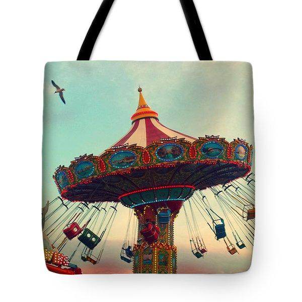 Happy Swing Tote Bag