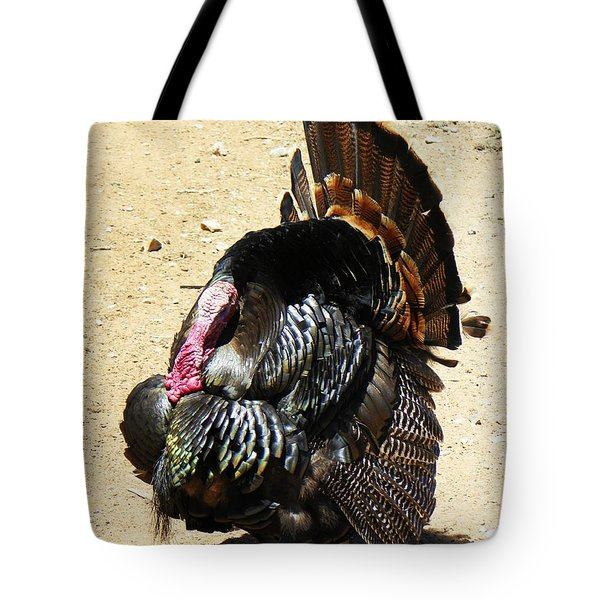 Happy Thanksgiving Tote Bag by Joseph Frank Baraba
