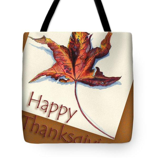Happy Thansgiving Tote Bag