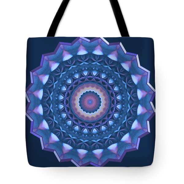 Happy To Be Blue Tote Bag