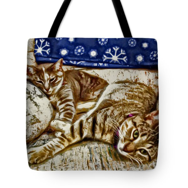 Happy Together Tote Bag by David G Paul