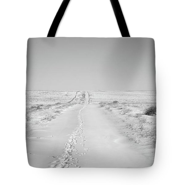 Happy Trails Tote Bag by Jim Garrison