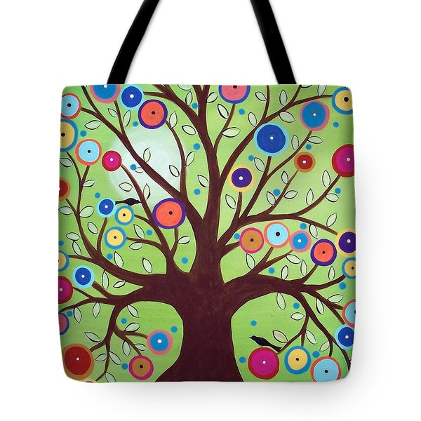 Happy Tree Tote Bag