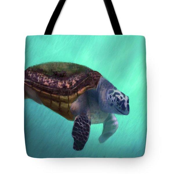 Happy Turtle Tote Bag