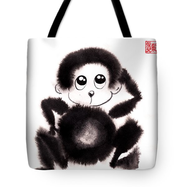 Happy Year Of The Monkey Tote Bag