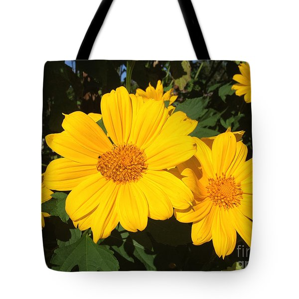 Happy Yellow Tote Bag