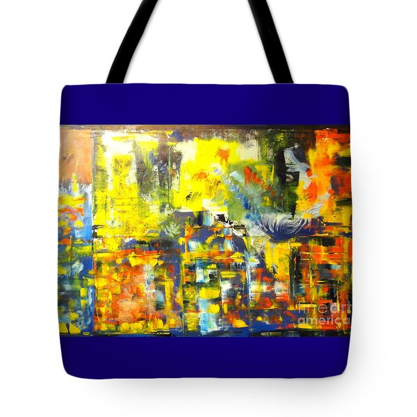 Happyness And Freedom Tote Bag