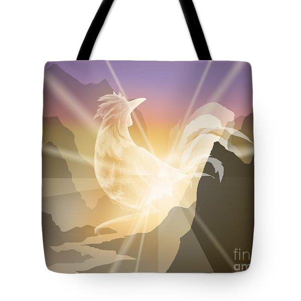 Harbinger Of Light Tote Bag