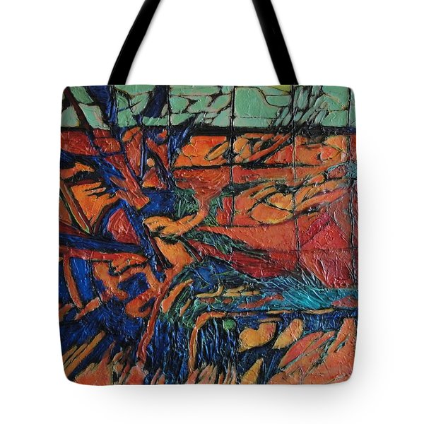 Harbingers Tote Bag by Bernard Goodman