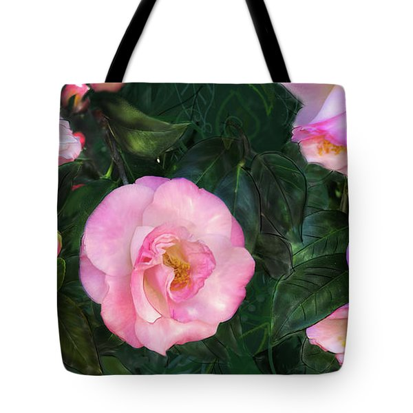 Tote Bag featuring the digital art Harbingers Of Spring by Gina Harrison