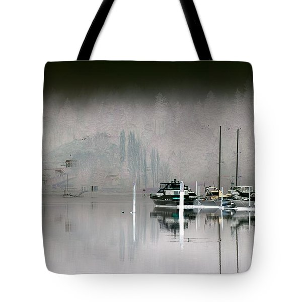 Harbor And Boats Tote Bag