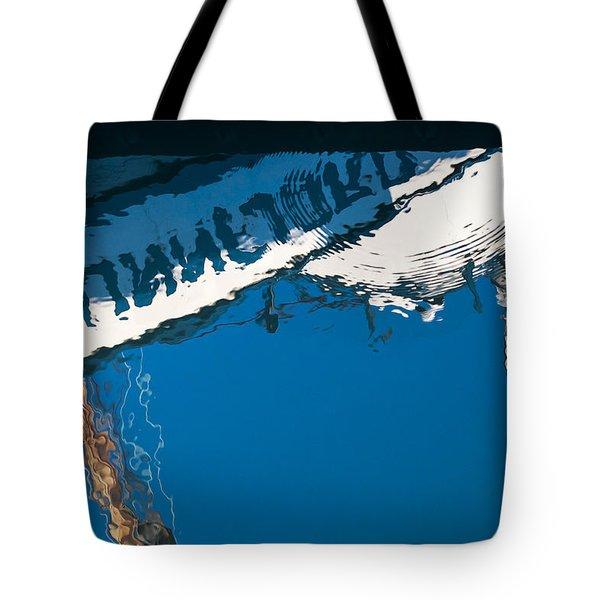 Harbor Blue Tote Bag
