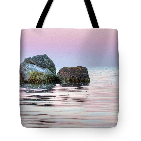 Harbor Breakwater Tote Bag