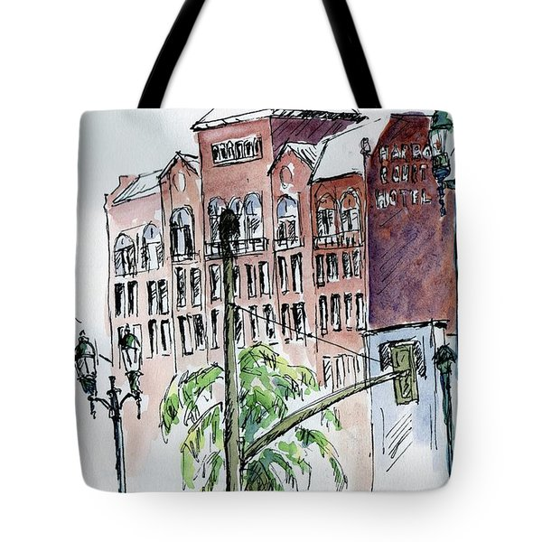 Harbor Court Hotel, San Francisco Tote Bag