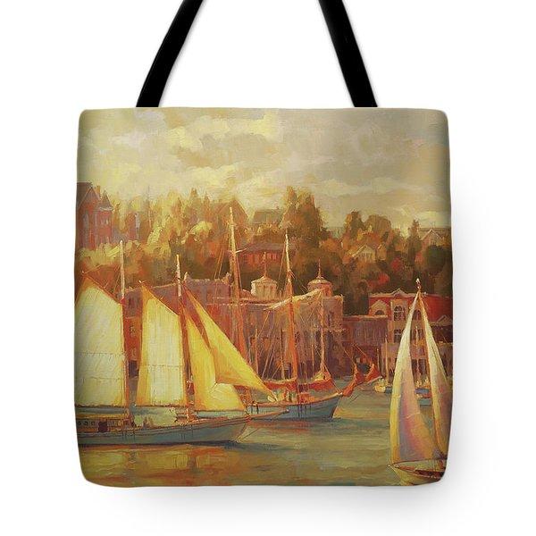 Harbor Faire Tote Bag