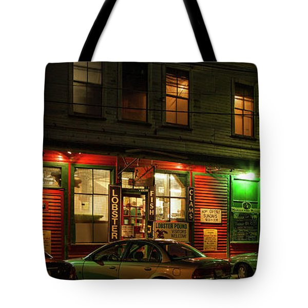 Harbor Fish Market Tote Bag